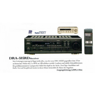 Denon DRA-585 RD schwarz